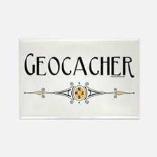 Geocacher Rectangle Magnet (10 pack)