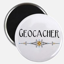 "Geocacher 2.25"" Magnet (100 pack)"