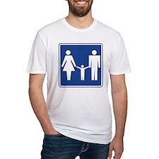 Restroom Family Sign Shirt