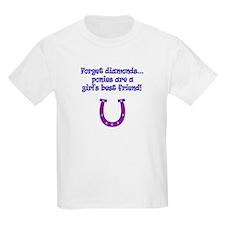 ponies best friends T-Shirt