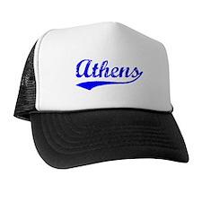 Vintage Athens (Blue) Trucker Hat