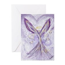 angel of love Greeting Cards (Pk of 20)