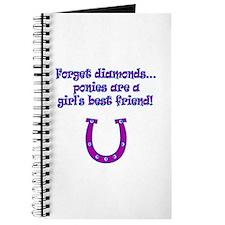 ponies best friends Journal