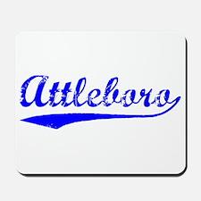 Vintage Attleboro (Blue) Mousepad