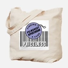 PULMONARY HYPERTENSION FINDING A CURE Tote Bag