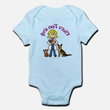 Blonde Veterinarian Infant Bodysuit
