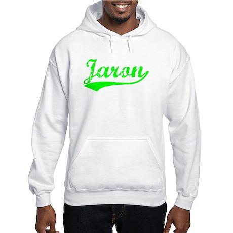 Vintage Jaron (Green) Hooded Sweatshirt