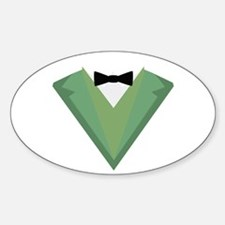 Green Tuxedo Suit with bow tie C3qgb Decal