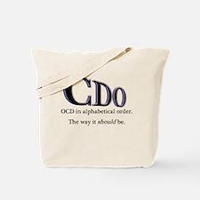 OCD Disorder in Order Tote Bag