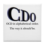 Funny ocd Drink Coasters