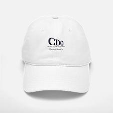 OCD Disorder in Order Baseball Baseball Cap