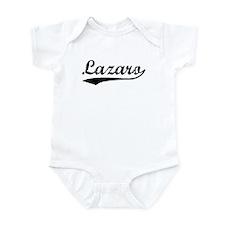 Vintage Lazaro (Black) Infant Bodysuit