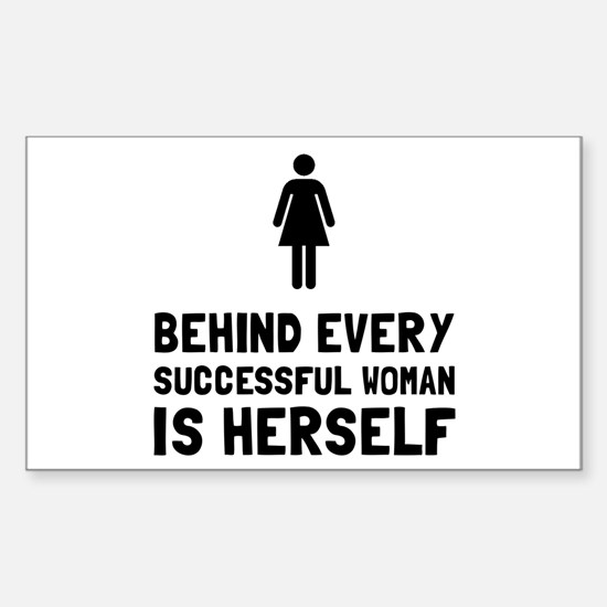 Successful Woman Decal
