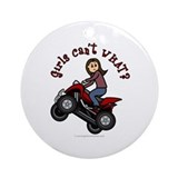 Atv girl Ornaments
