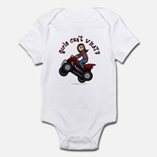 Light Skin ATV/Four-Wheeling Infant Bodysuit