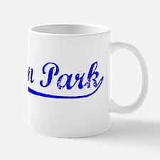 Vintage Baldwin Park (Blue) Mug