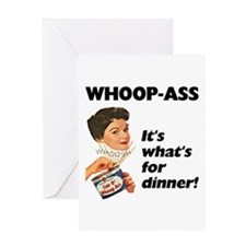 Whoop-Ass Greeting Card