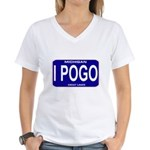 I Pogo Women's V-Neck T-Shirt