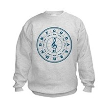 New Blue Circle of Fifths Sweatshirt