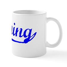 Vintage Banning (Blue) Mug