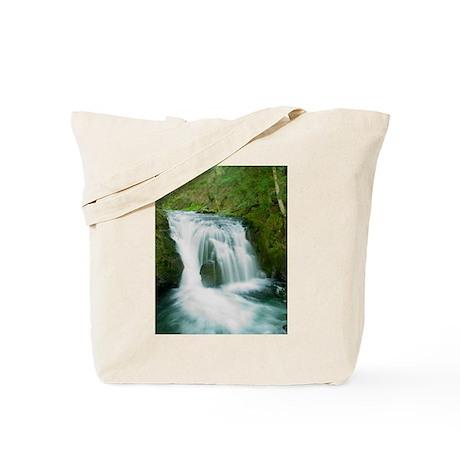 Upper Multnomah Falls, Oregon Tote Bag