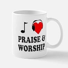 I HEART PRAISE & WORSHIP Mug