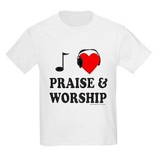 I HEART PRAISE & WORSHIP T-Shirt
