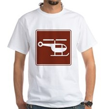 Helicopter Sign Shirt