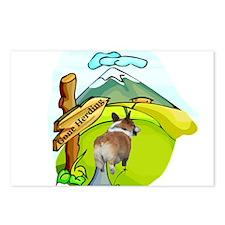 Gone Herding Postcards (Package of 8)