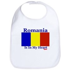 Romania - Heart Bib