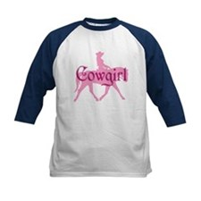 Pink Cowgirl w/ Text Tee
