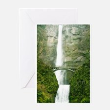 Multnomah Falls, Oregon Greeting Card