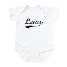 Vintage Lena (Black) Infant Bodysuit