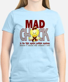 Multiple Myeloma Mad Chick 1 T-Shirt