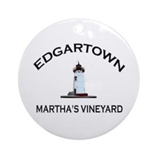 Edgartown Ornament (Round)