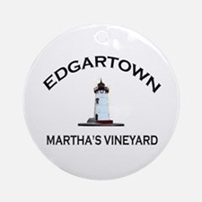 Edgartown Ornament (Round)