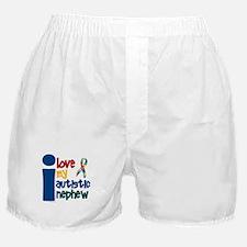 I Love My Autistic Nephew 1 Boxer Shorts