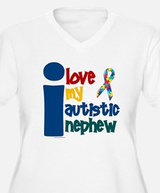 I Love My Autistic Nephew 1 T-Shirt