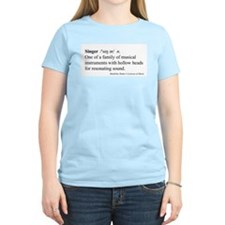 Humorous Singer Definition T-Shirt