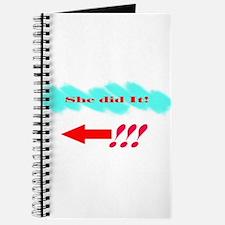 She Did It_Lt Journal