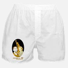 Barack & Hillary 08 (1) Boxer Shorts