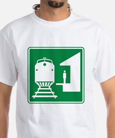 Train Station Sign Shirt