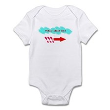 She Did It_Rt Infant Bodysuit