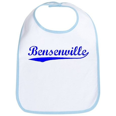 Vintage Bensenville (Blue) Bib