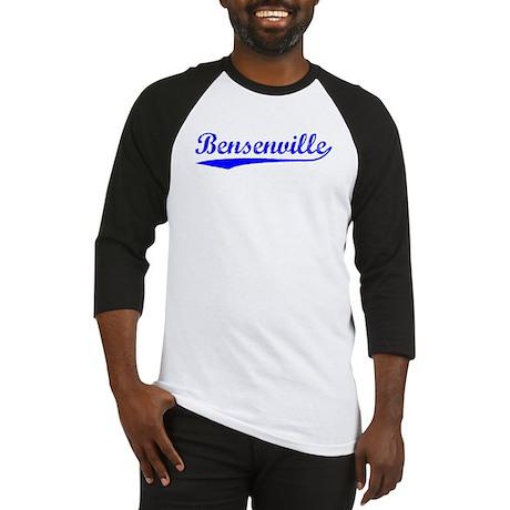 Vintage Bensenville (Blue) Baseball Jersey