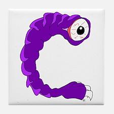 Monster Letter C Tile Coaster