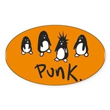 punk Oval Decal