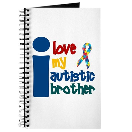 I Love My Autistic Brother 1 Journal