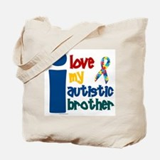 I Love My Autistic Brother 1 Tote Bag