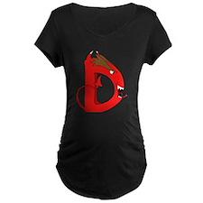 Monster Letter D T-Shirt